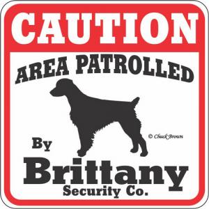 Caution サインボード ブリタニー