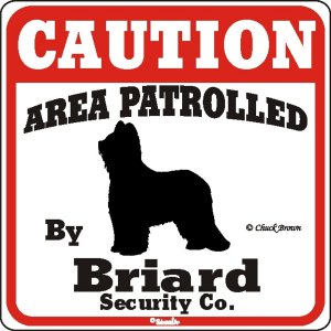 Caution サインボード ブリアード