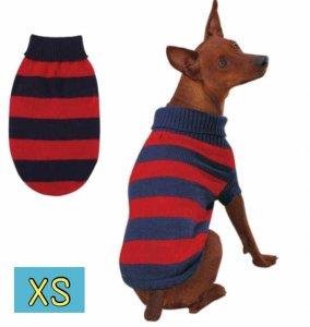 ラグビーセーター【XS】胴34cm、丈24cm