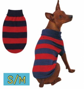 ラグビーセーター【S/M】胴46cm、丈35cm