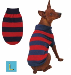 ラグビーセーター【L】胴70cm、丈50cm