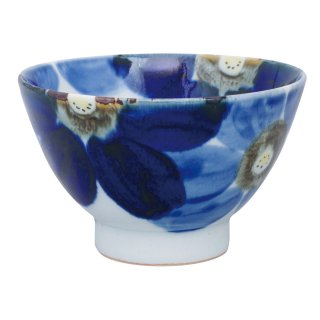 藍花 飯碗