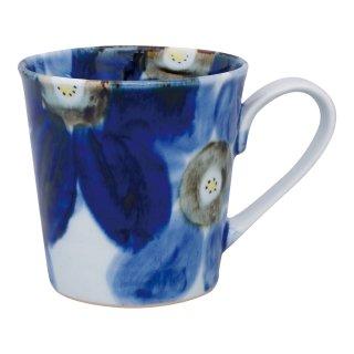藍花 マグカップ