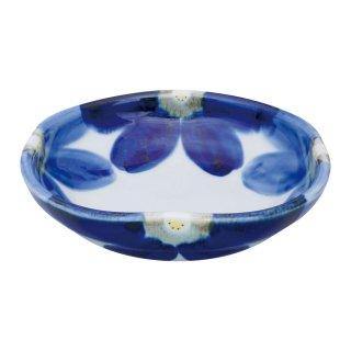 藍花 角漬物鉢