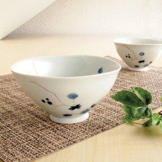 藍松竹梅飯碗(大・小)