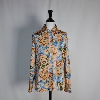 Used 70s Flower Shirts