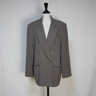 Used W button Tailored Jacket