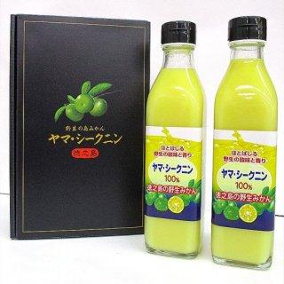 ヤマシークニン果汁100%2本セット/徳之島町商工会/ダイキチ食品株式会社/常温60