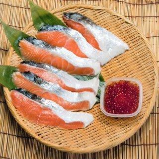 純粋知床産 鮭めじかといくら醤油漬セット