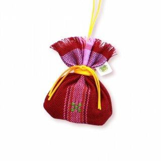 沖縄伝統工芸品コラボ マース袋のお守り 根間うい