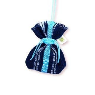 沖縄伝統工芸品コラボ マース袋のお守り ししごん