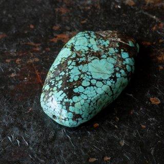チベットナチュラル オールドターコイズ(トルコ石) ビーズ t-034