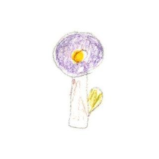 お花ブローチ
