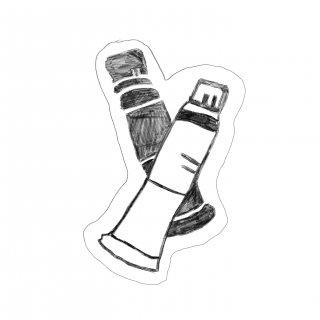 木版画文香「えのぐ」