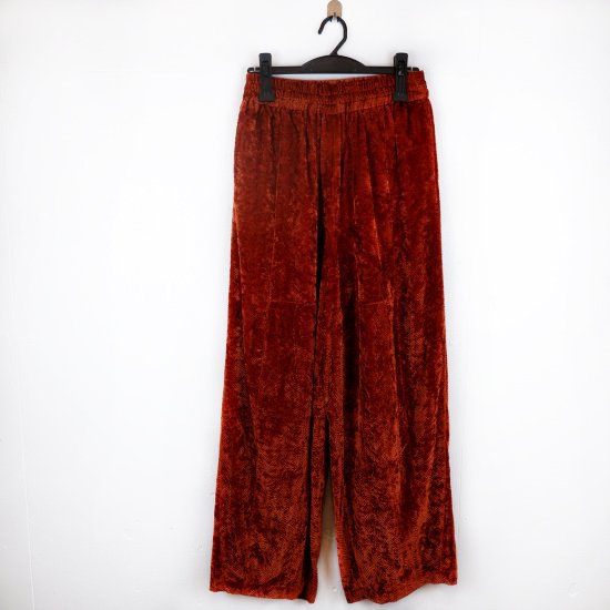 【STANDALONE】PT08 velvet pants