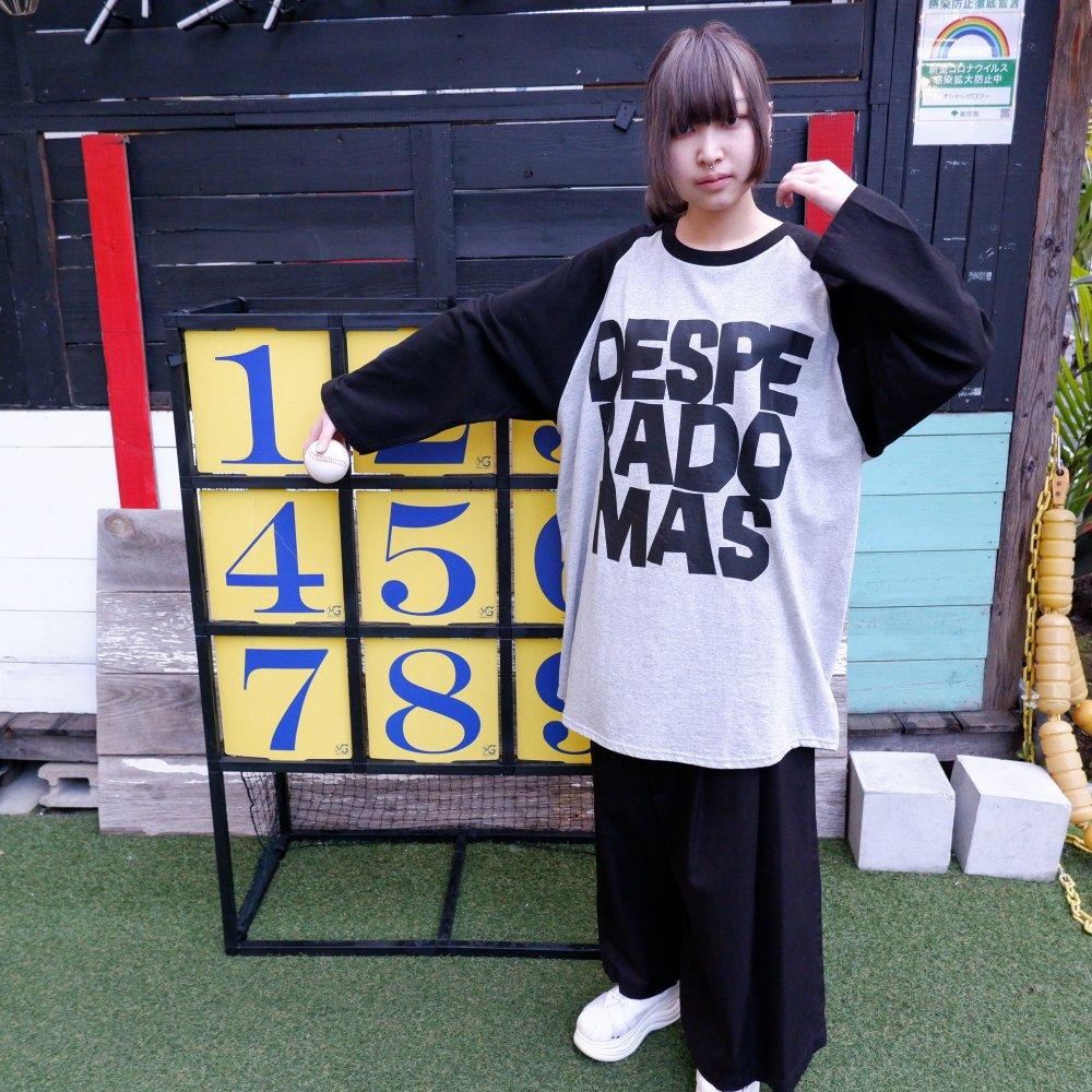【DESPERADO+MAS】BASEBALL T-SHIRT