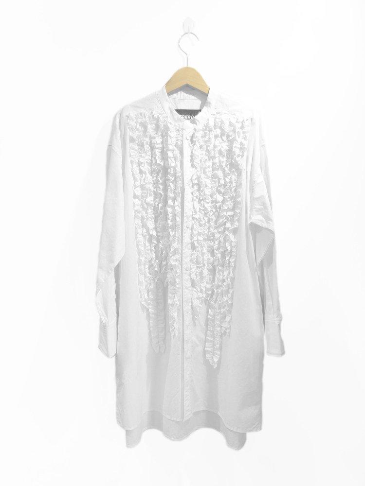 【DESPERADO+MAS】frill shirt dress +