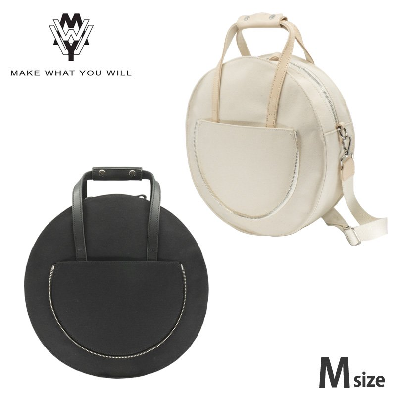 【MAKE WHAT YOU WILL】SYL ROUND BACKPACK M