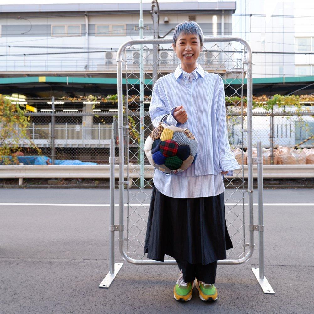 【Ore】サッカーボールバッグ M  wool multi