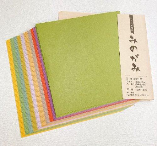 いろどり和紙みのがみ 150角サイズ MP-150