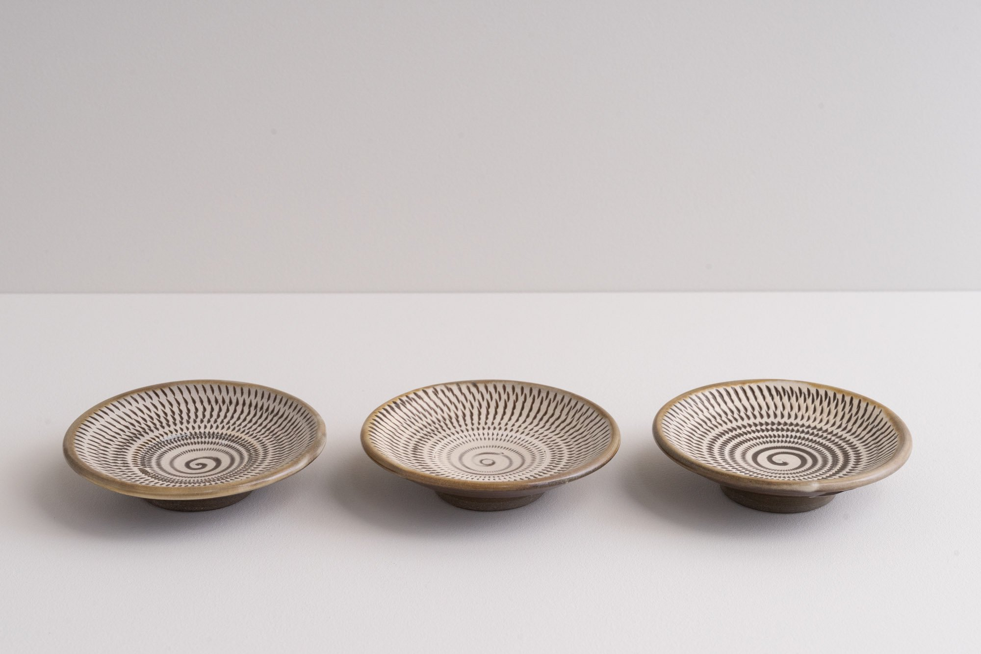 3寸豆皿(飛びかんな)