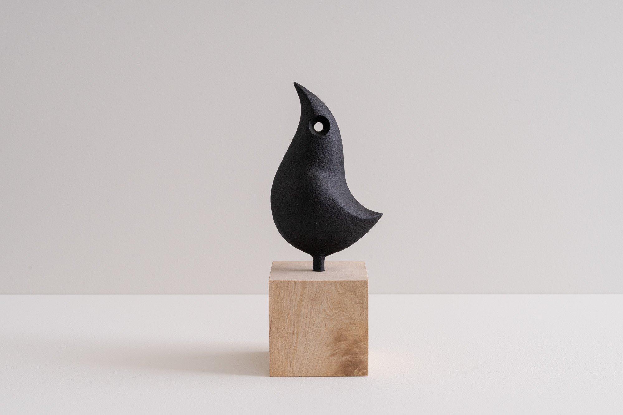 オーナメント鳥(木台)