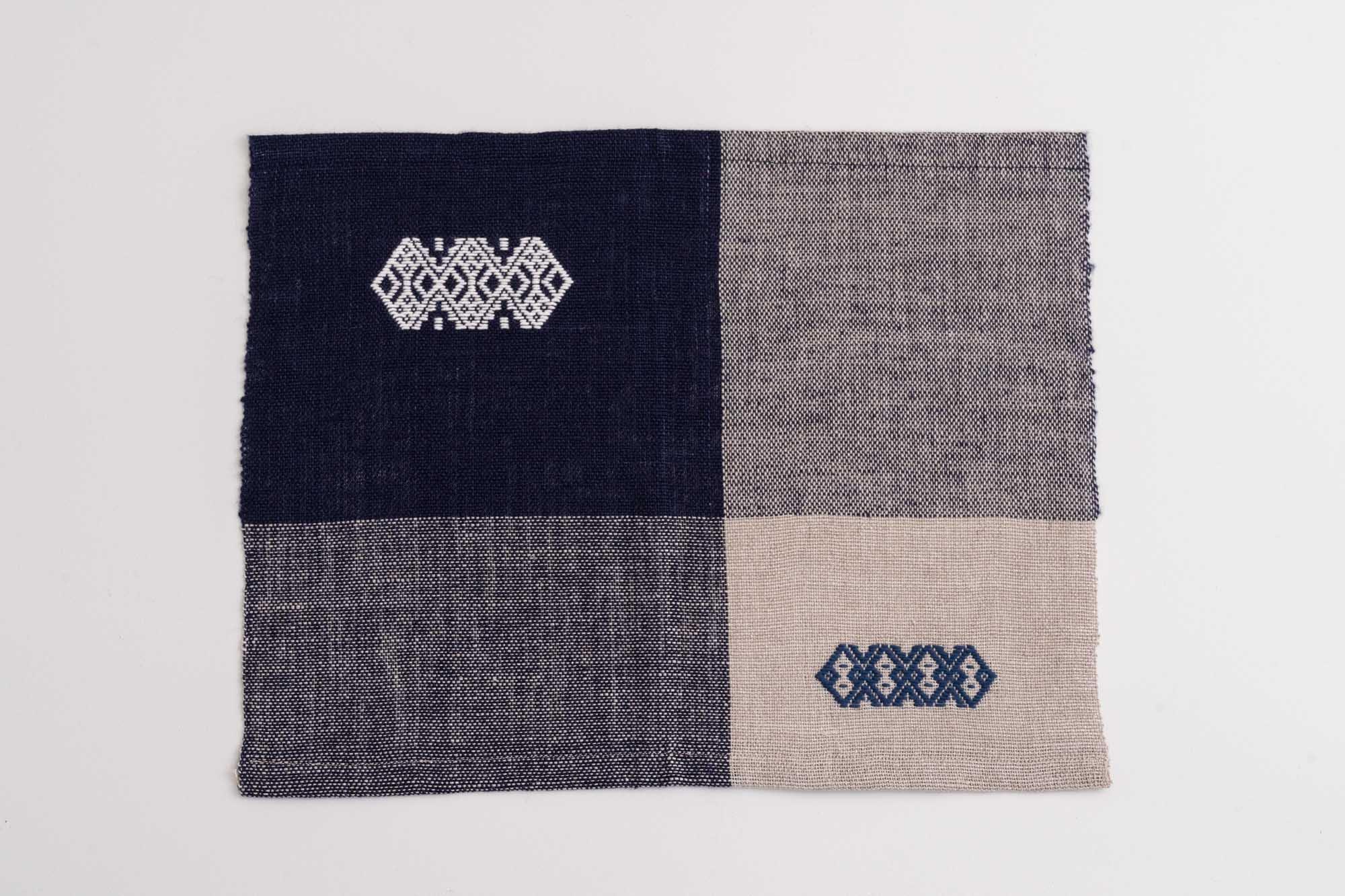 手織りランチョンマットD