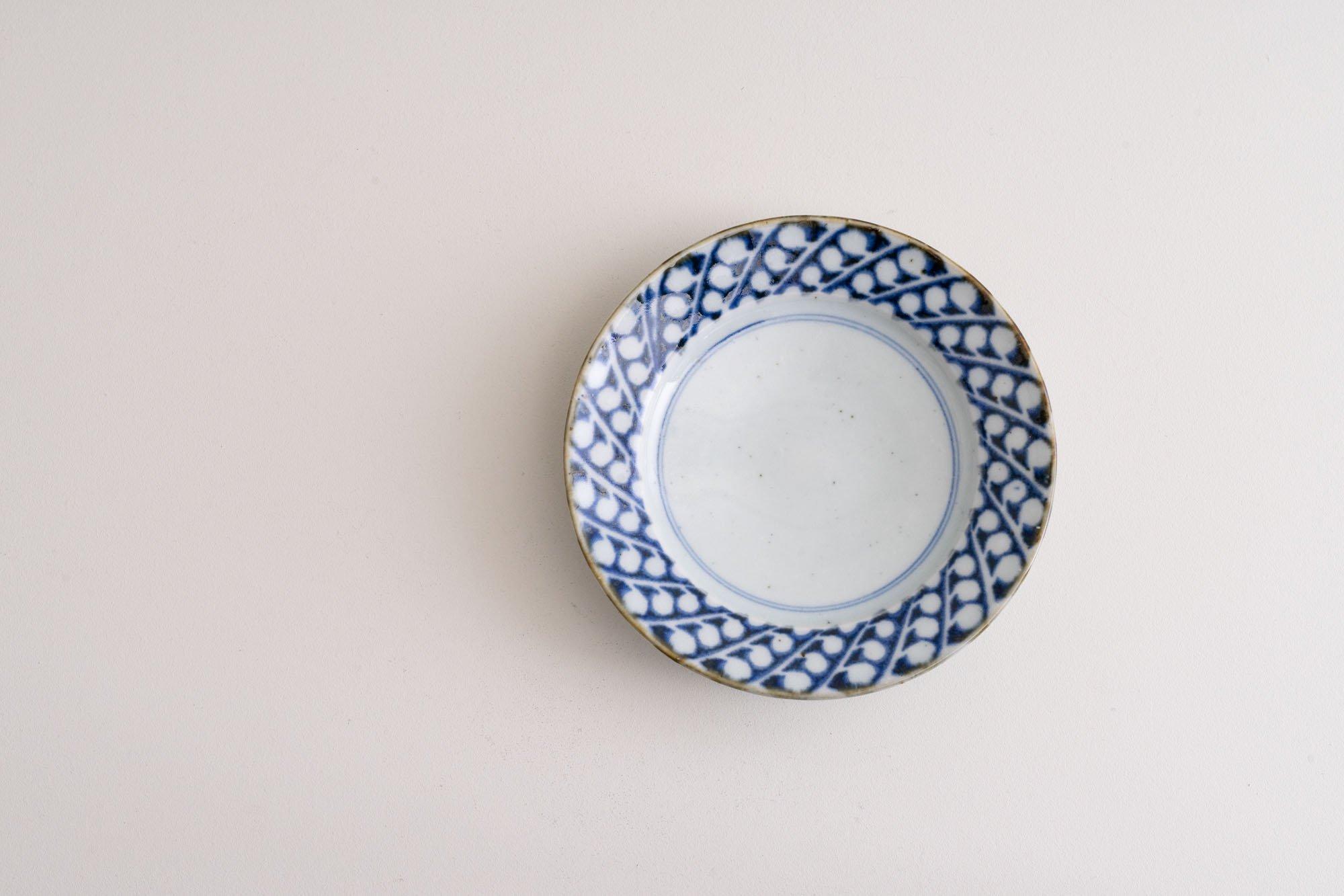 5寸リム皿(すずらん)