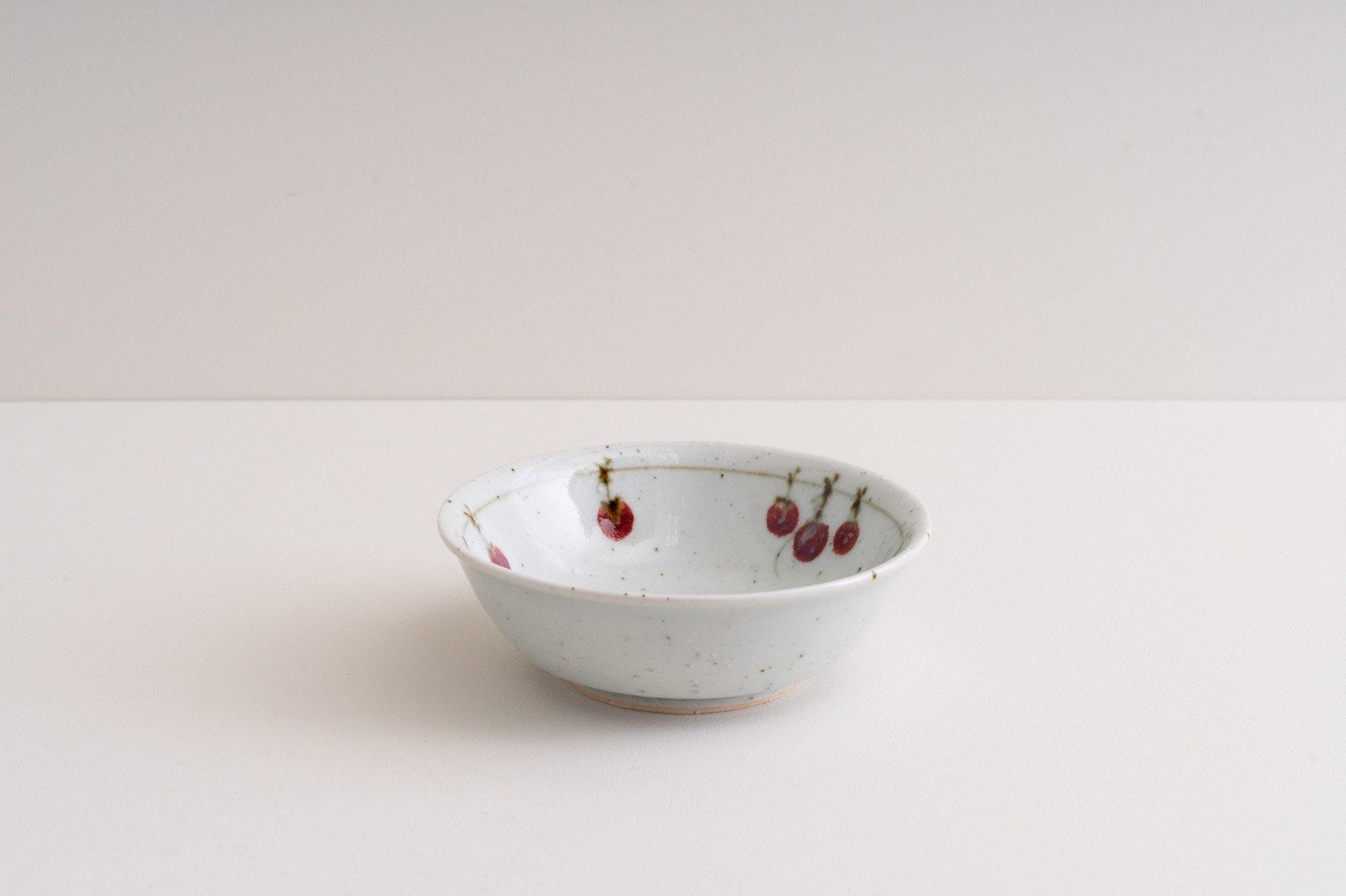 4寸鉢(吊るし柿)