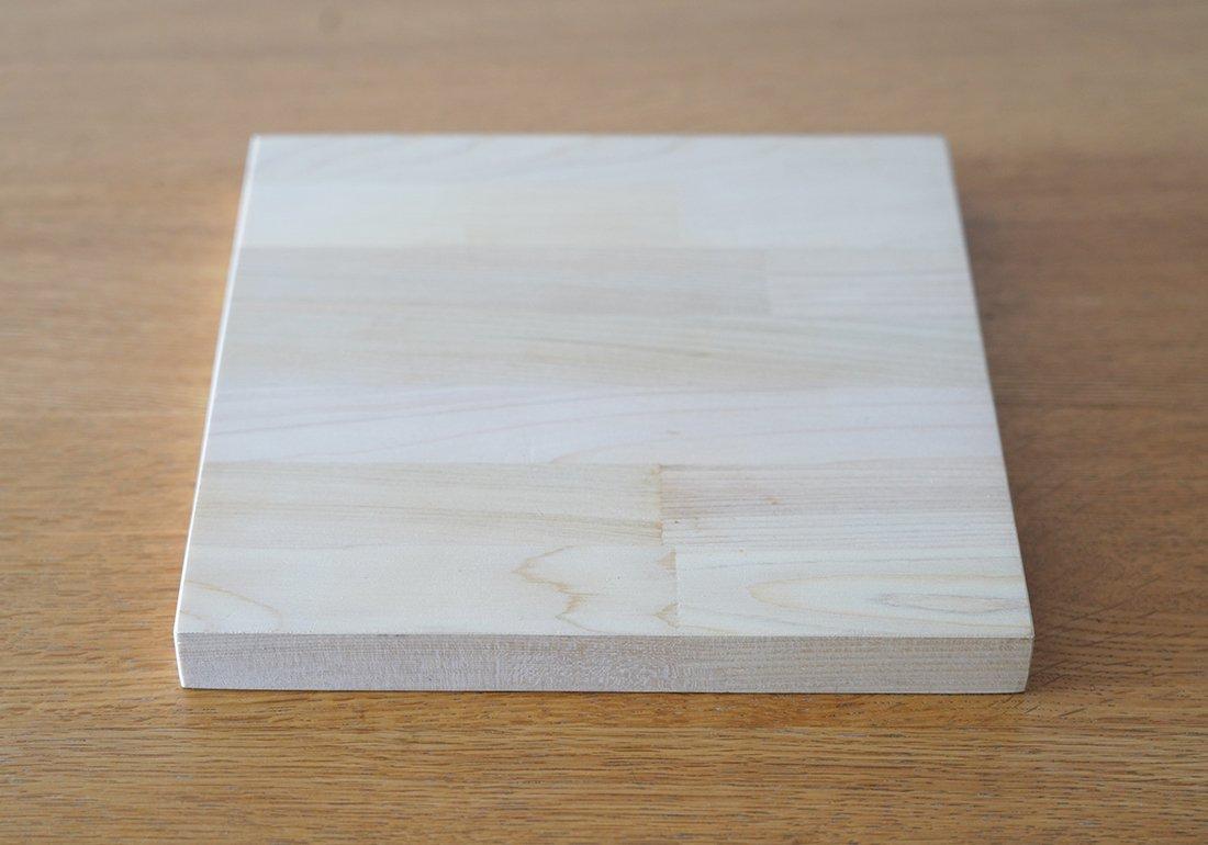 青森ヒバまな板 小さめ正方形/CUTTING BOARD small_square