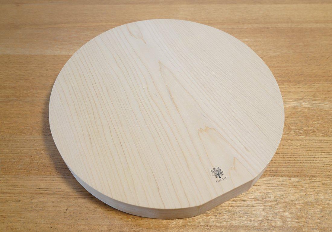 青森ヒバまな板 一枚板・大きな丸/CUTTING BOARD Round
