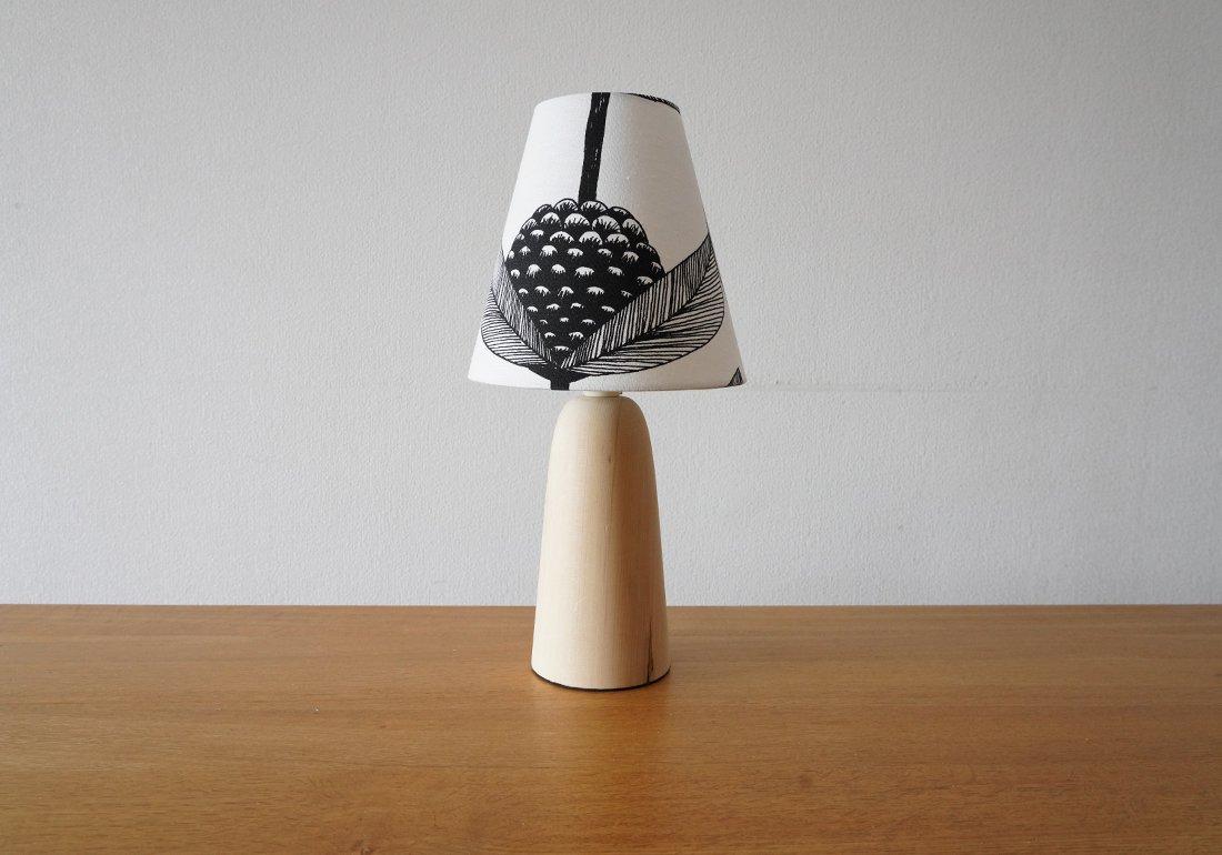 青森ヒバ ランプ モノトーン/HIBA TABLE LAMP type:monotone