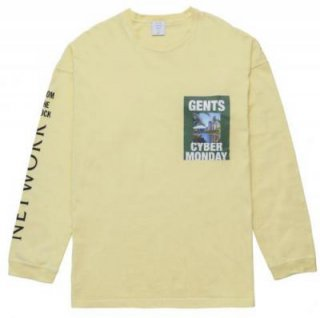 <img class='new_mark_img1' src='https://img.shop-pro.jp/img/new/icons21.gif' style='border:none;display:inline;margin:0px;padding:0px;width:auto;' />[MR.GENTLEMAN] GENTS CYBER MONDAY L/S TEE