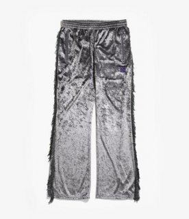 <img class='new_mark_img1' src='https://img.shop-pro.jp/img/new/icons12.gif' style='border:none;display:inline;margin:0px;padding:0px;width:auto;' />FRINGE BOOT-CUT TRACK PANT - CRUSH VELOUR