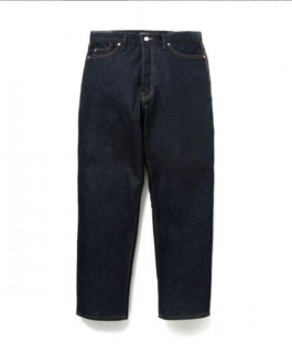 """<img class='new_mark_img1' src='https://img.shop-pro.jp/img/new/icons21.gif' style='border:none;display:inline;margin:0px;padding:0px;width:auto;' />STRAIGHT FIT DENIM PANTS RAW """"THUNDERS"""""""