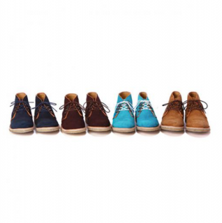 Suede Leather Desert Boots by Caminando