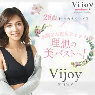 <送料無料>【2枚セット】Vijoy 28歳からのナイトブラ