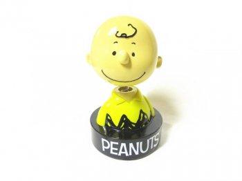 ピーナッツ70周年記念 チャーリーブラウン ボブルヘッド 貯金箱 バンク フィギュア フィギュアリン PEANUTS Charlie Brown Bobble Head Bank
