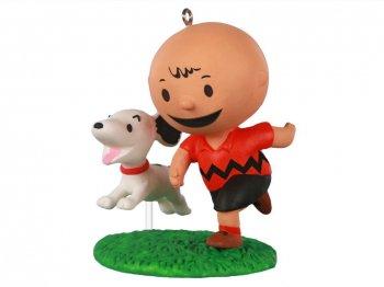 ホールマーク 2020 オーナメント チャーリーブラウン & スヌーピー ピーナッツ The Peanuts Gang A Boy and His Dog