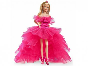 バービー ピンクコレクション ドール 1 シルクストーンボディ 人形 Barbie Pink Collection Doll (GTJ76)