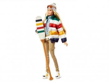バービー ハドソンズ・ベイ350周年記念 ストライプ ドール ボーダー 人形 HBC Stripes Barbie Doll Hudson's Bay Limited Edition (GHT68)