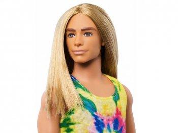 バービー ケン ファッショニスタ ロング ブロンドヘア ドール 人形 KEN Fashionistas Long Blonde Hair GHW66