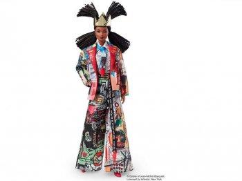 バービー ジャン=ミシェル・バスキア ドール 人形 ブラック 黒人 Jean-Michel Basquiat Barbie Doll (GHT53)