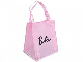 バービー ロゴ ピンク ショッピング エコバッグ 鞄 マテル社 オリジナル 限定 Barbie Shopping Bag