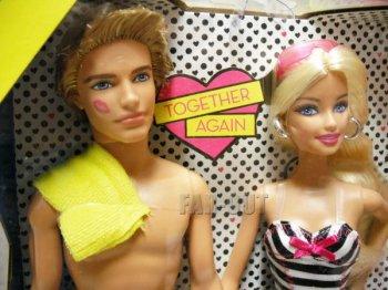 バービー&ケン SHE SAID YES! プロモーション ドール 人形セット