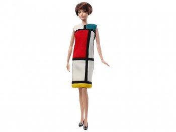 バービー イヴ・サンローラン モンドリアン・ルック アート ドール 人形 プラチナラベル Barbie Yves Saint Laurent Doll Musee & Paris Mondorian