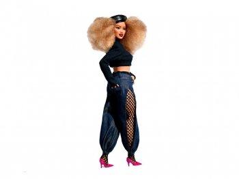 バービー マルニ セノフォンテ アフリカンアメリカン アフロヘア 黒人 ドール 人形 Barbie × Marni Senofonte AA (FJH75)