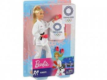 バービー 東京オリンピック 2020 空手 ポーザブル ドール 人形 ブロンドヘア Barbie Tokyo 2020 Olympic Karate からてのせんしゅ