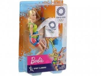 バービー 東京オリンピック 2020 スポーツクライミング ポーザブル ドール 人形 ブロンドヘア Barbie Tokyo 2020 Olympic Sport Climbing