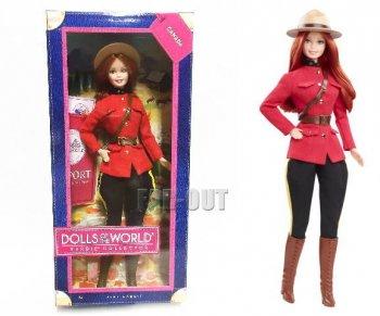 バービー ドール・オブ・ザ・ワールド カナダ フォレストレンジャー ドール 人形 2013年 Barbie Canada
